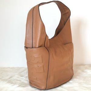 Tory Burch Tan/Luggage T Hobo